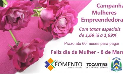Campanha Mulheres Empreendedoras